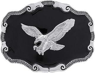 YOQUCOL Native American Bald Eagle Belt Buckle Western Cowboy Mountain Flying Eagle Belt Buckle