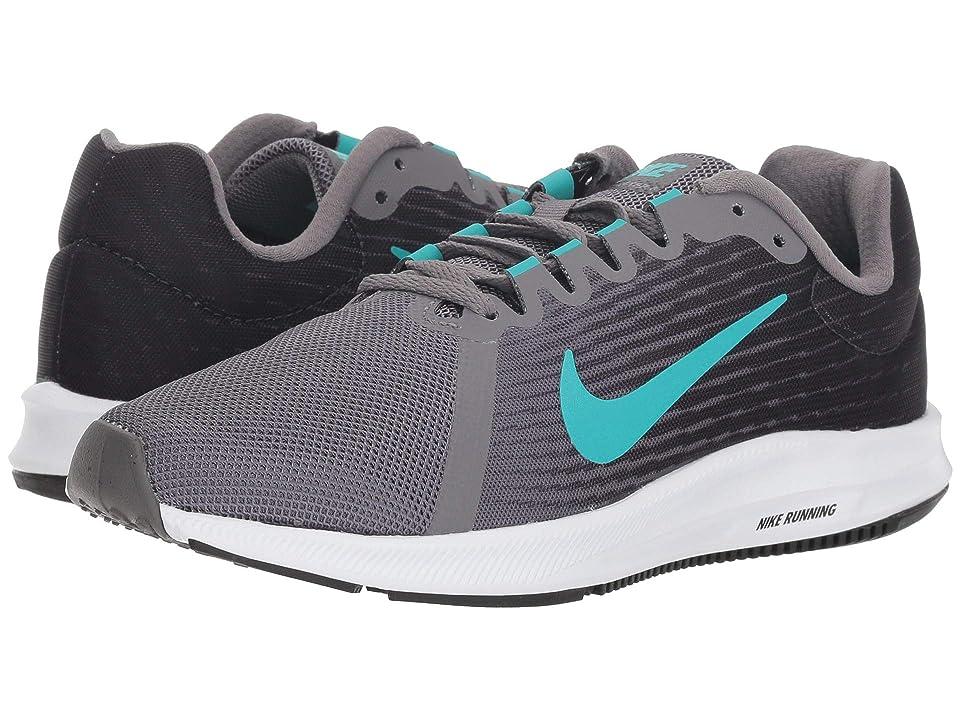 Nike Downshifter 8 (Gunsmoke/Hyper Jade/Oil Grey/Black) Women