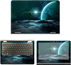 decalrus - Protective Decal Space Skin Sticker for HP Pavilion x360 11M-AD013DX (11.6