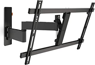 Vogels WALL 3345 Negro, Soporte de Pared para TV 40 - 65 Pulgadas, Inclinable y Giratorio 180º, Máx 30 kg y con sistema VE...