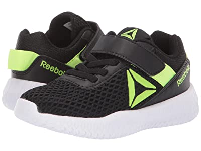 Reebok Kids Flexagon Energy Alt (Little Kid/Big Kid) (Black/Solar Yellow) Boys Shoes