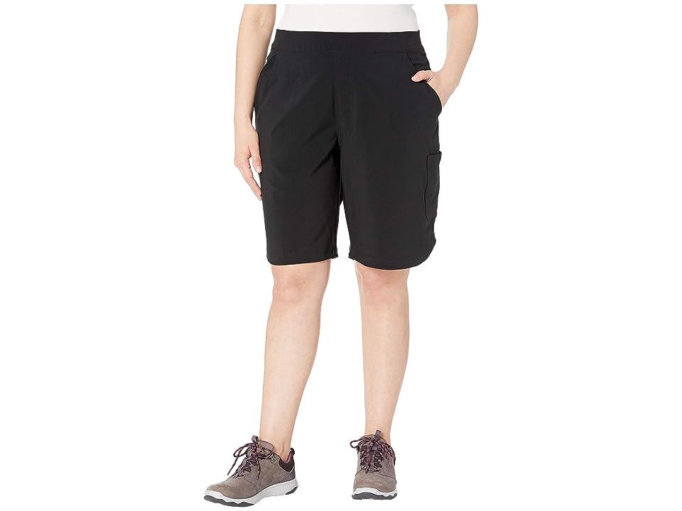 Columbia Plus Size Place To Placetm Long Shorts (Black) Women