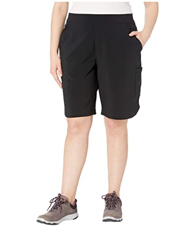 Columbia Plus Size Place To Placetm Long Shorts (Black) Women