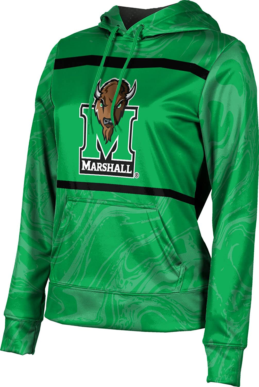 ProSphere Marshall University Girls' Pullover Hoodie, School Spirit Sweatshirt (Ripple)