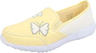 KazarMax Boys & Girls (Unisex) Lemon Butterfly Latest Collection, Comfortable Sneaker Shoes