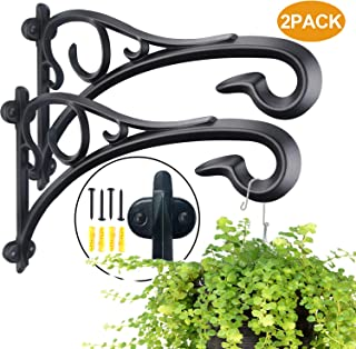 Best wrought iron hanging basket holders Reviews