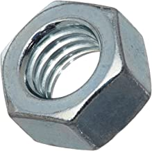 Steel Hex Nut, Zinc Plated Finish, Class 8, JIS B1181, M10-1.25 Thread Size, 14 mm Width Across Flats, 8 mm Thick (Pack of...