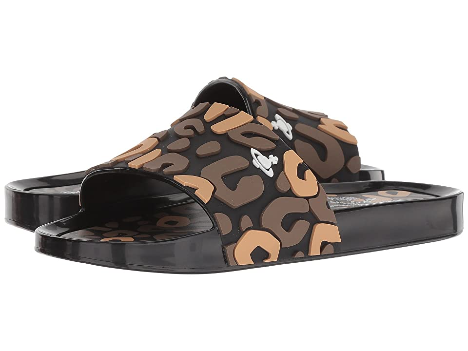 + Melissa Luxury Shoes x Vivienne Westwood Anglomania Beach Slide 02  Brown