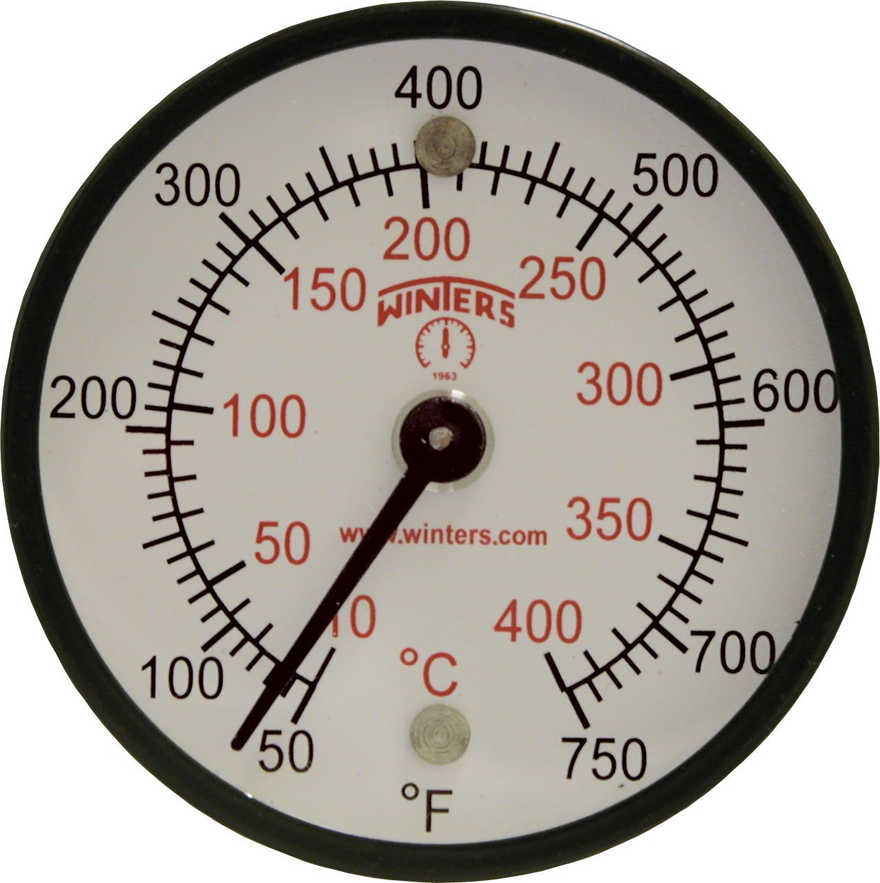 Winters TMT Limited time cheap sale Series Steel Dual Magnet Opening large release sale Surface scale Thermometer