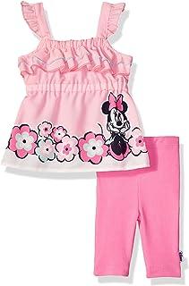 Disney - Juego de Leggings para bebé, diseño de Minnie Capri