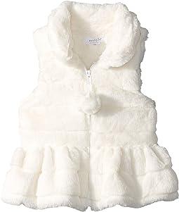 Ruffle Fur Vest (Infant/Toddler)