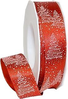 "Morex Ribbon 69725/20-609 Torino Polyester Ribbon, 1"" x 22 yd, Red"