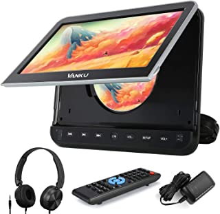 "Vanku 10.1"" Car DVD Player with Headrest Mount for Kids, HDMI Input, Headphone, Support 1080P Video, USB SD, AV in Out, La..."