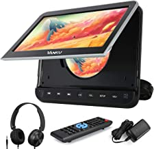 """Vanku 10.1"""" Car DVD Player with Headrest Mount for Kids, HDMI Input, Headphone, Support 1080P Video, USB SD, AV in Out, La..."""