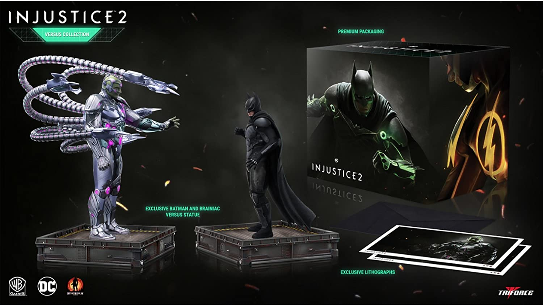nuevo listado Triforce Injustice 2 2 2 The Versus Collection PVC Statues 23-28 cm  forma única