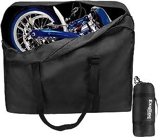 comprar comparacion Bolsa de Transporte de Bicicleta Plegable, Exqline 1680D Oxford Bolsa de Almacenamiento de Bicicleta Bolsa de Transporte B...