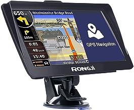 Navegación GPS para coche camión 2021 mapas gratis contiene EE.UU. Canadá México Mapa Car Navigator 800 x 480 Pixeles 8G 256M Función de transmisión de voz y alerta de conducción de la cámara de velocidad