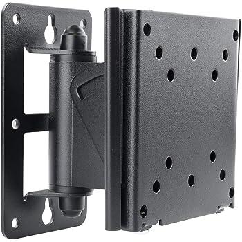 TooQ LP1432TN-B - Soporte inclinable y giratorio de pared para monitor/TV/LED/LCD de 10