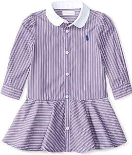RALPH LAUREN Baby Girls' Striped Dress & Bloomer