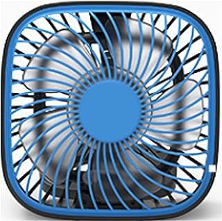 JULABO Durable Ventilateur de Table de Refroidissement USB Ventilateur de Table carré Pratique (Color : Dark Blue)