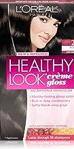 3 Pk, L'Oreal Paris Healthy Look Creme Gloss, Black / Cafe Noir #2