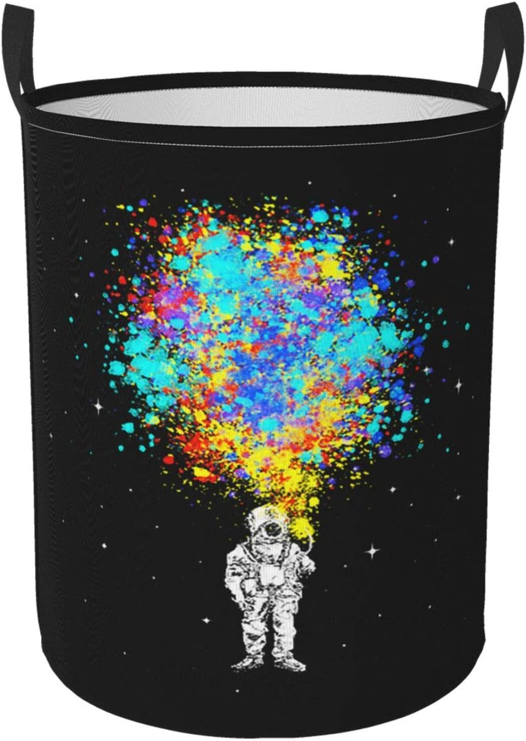 SAIKOUNOYA Space Splatter 2021new shipping free Astronaut Laundry Special Campaign Hamper Basket with H