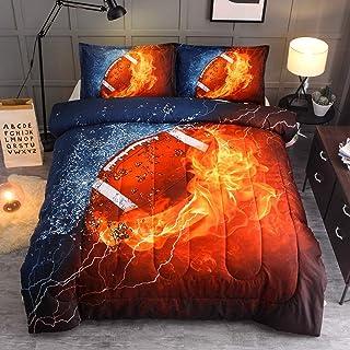 YEARNING American Football Comforter Set (Twin Size...