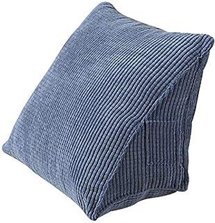 Levoberg - Cojín de lectura triangular, ergonómico desenfundable para cama, sofá, 40 x 36 x 20 cm #6