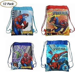 spiderman drawstring bag