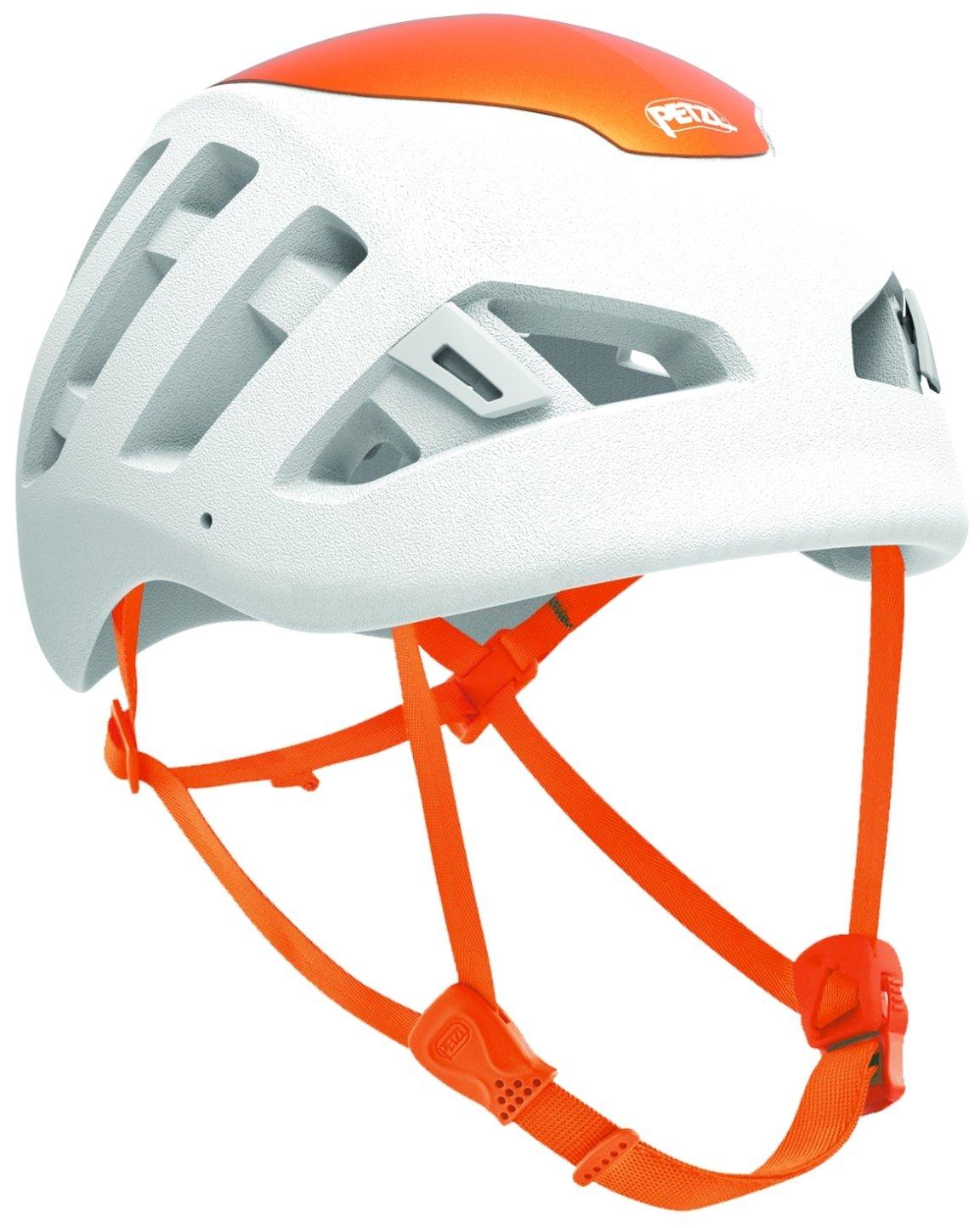 PETZL Unisex– Erwachsene Helmet White Helm Sirocco Weiß/Orange S/M, Mehrfar