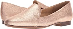 Rose Gold Sparkle Metallic Leather