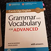 Grammar and Vocabulary for Advanced. Book with Answers and