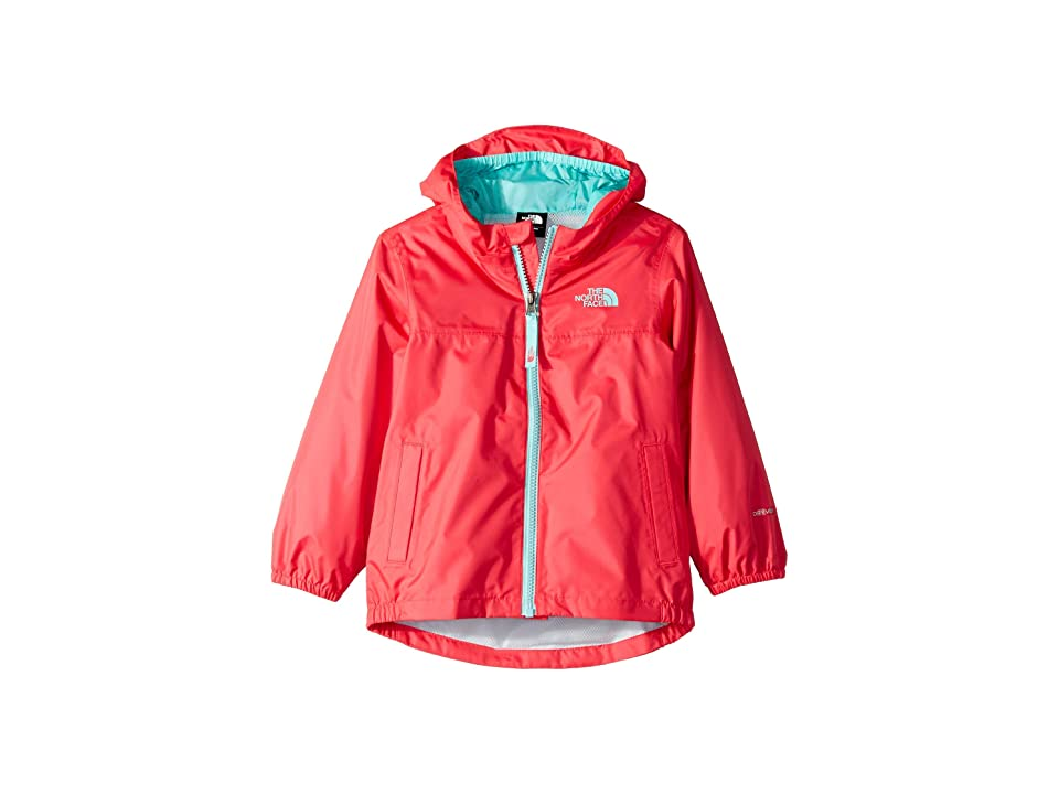 The North Face Kids Zipline Rain Jacket (Toddler) (Atomic Pink) Girl