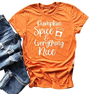 Best pumpkin spice and everything nice shirt Reviews