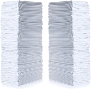"Simpli-Magic 79007-100PK White 100 Pack Shop Towels 14""x12"", 100 Pack"