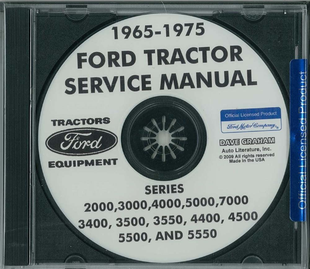 bishko 保証 automotive literature 1965-1975 2000-7000 Ford Tractor 日本 Sh
