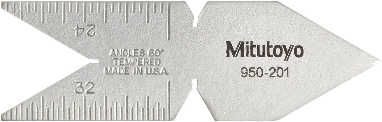 Mitutoyo 950-201 Center Gage for 60 Sales sale Deg. 40% OFF Cheap Sale Threads