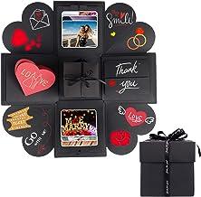 Creative Explosion Gift Box, DIY Handmade Photo Album Scrapbooking Gift Box for Birthday Gift, Anniversary Gifts, Valentin...