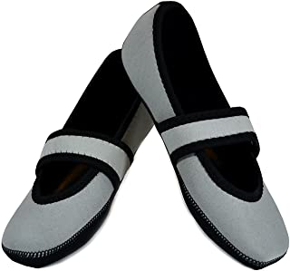 Nufoot Betsy Lou Women's Shoes, Foldable & Flexible Flats, Slipper Socks, Travel Slippers & Exercise Shoes, Dance Shoes, Y...