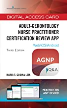Adult Gerontology Nurse Practitioner Certification Review App - Digital Access Card for Highly-Rated AGNP Exam Book App - 680 Practice Questions
