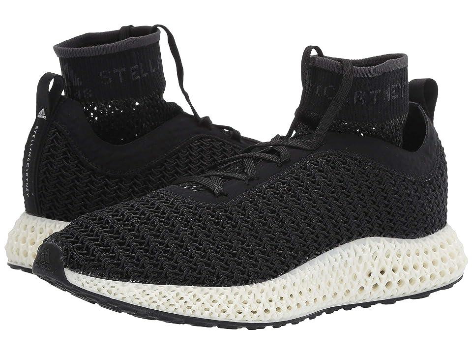 Image of adidas by Stella McCartney Alphaedge 4D (Core Black/Core Black/Core Black) Women's Shoes