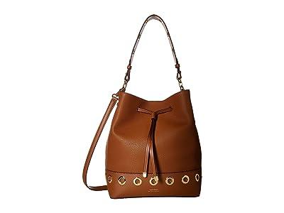 LAUREN Ralph Lauren Dryden Debby Drawstring (Field Brown 2) Drawstring Handbags