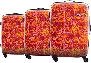 حقيبة الامتعة كاميليانت من امريكان توريستر، احمر، 57سم- 67 سم- 77 سم - I2810007