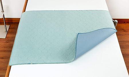 Traversa impermeabile trapuntata ULTRA ASSORBENTE lavaggio 90/° salvamaterasso coprimaterasso Confezioni Lella 60x90, SENZA ali di rincalzo