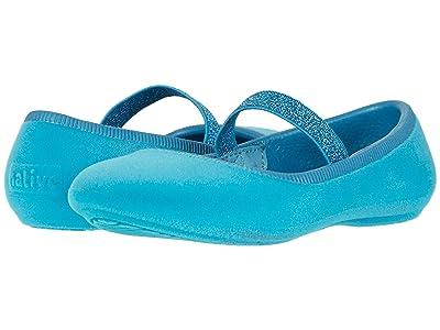 Native Kids Shoes Margot Velvet (Toddler/Little Kid) (Depth Blue) Girls Shoes