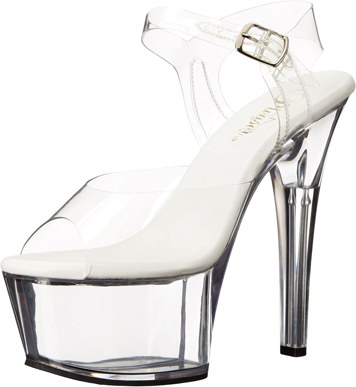 Pleaser Womens Asp608 C M Platform Sandal