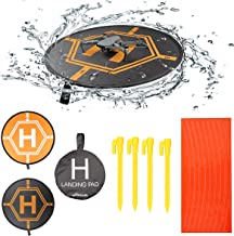 RCstyle Drones Landing Pad Universal Waterproof Large 80cm/31.5'' Protective Fast-fold Apron Compatible with DJI Mavic Pro/Mavic Air/Mavic 2 / Spark Drone Accessories