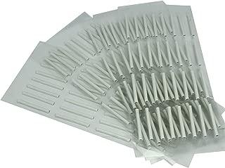 Baisidai New S M L 160/128 Pcs Sticky Rods False Eyelash Perming Curlers Curling Perm Tool (M, 128pcs)