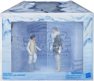 Star Wars Black Series Hoth Leia Organa and Han Solo Figures
