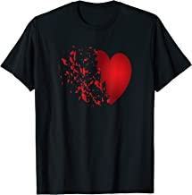 Broken Heart anti Valentine's Day funny t-shirt